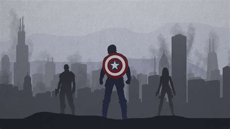 captain america vector wallpaper captain america winter soldier desktop wallpaper by