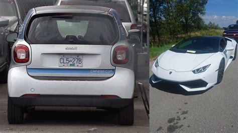 cargo smart car lamborghini impounded  excessive