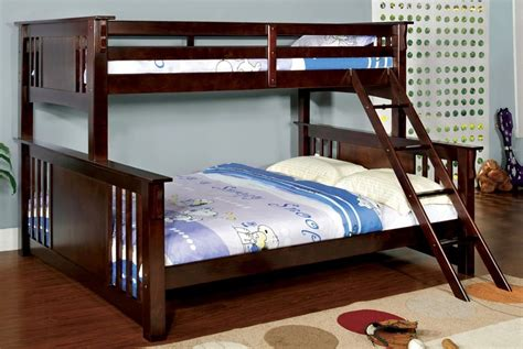 solid wood bunk beds twin over twin xl twin over queen mission style dark walnut solid wood