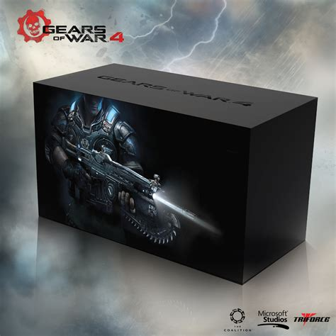 Premium Xbox One S Gear Of Wars 2tb Aif612 gears of war 4 collector s edition and season pass