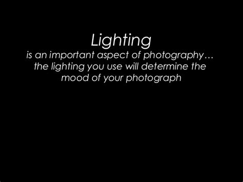 Most Important Aspects Of Mba App by Photography Lighting Assignment