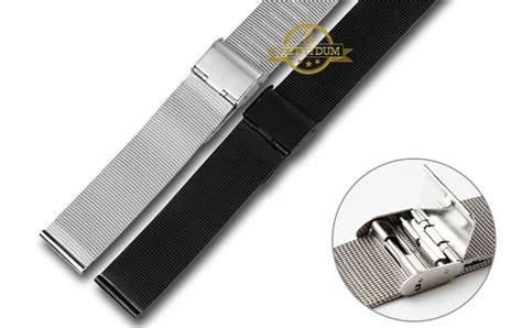 jam tangan milanese stainless steel 20mm silver jakartanotebook
