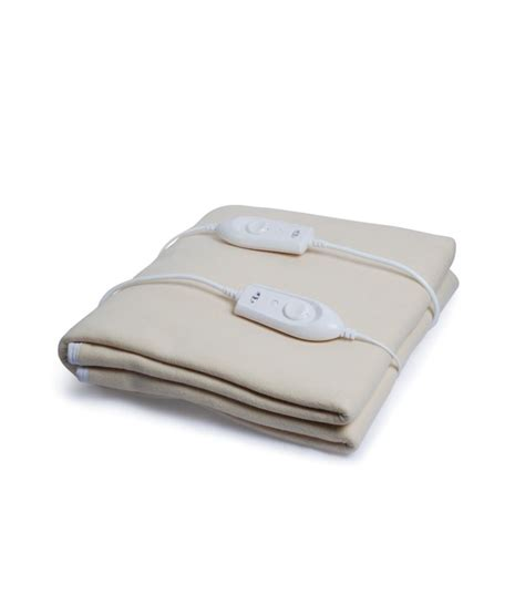 electric bed warmer expressions light brown electric double bed warmer buy expressions light brown