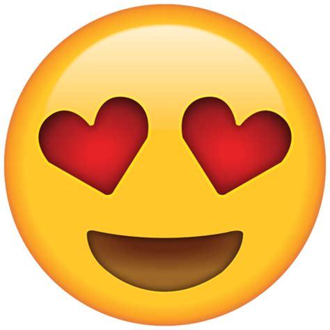 heart eyes emoji icon emoji island