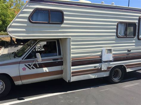 toyota motorhome 1984 toyota coachmen motorhome for sale in concord ca