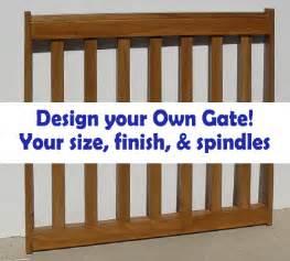 Porch Banister Gates2u Custom Pet Gates Custom Baby Gates Custom Deck