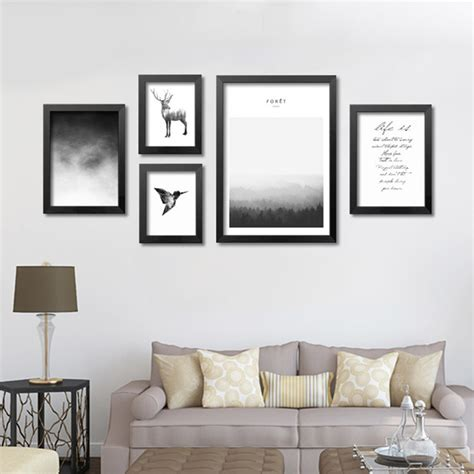prints for living room home design