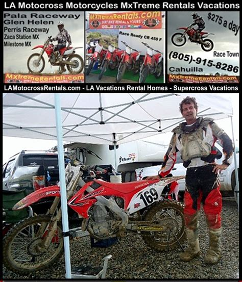 motocross bike hire los angeles ca la los angeles motocross dirt bike