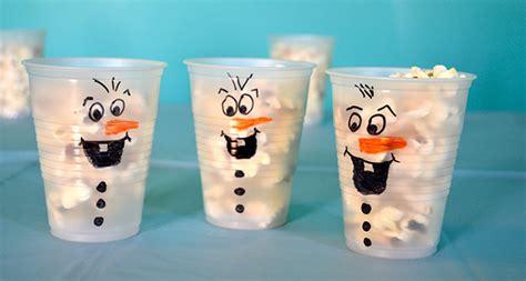 bicchieri pop corn festa a tema frozen 10 idee per compleanni di bambini