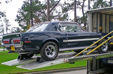 Home Decor Green Bay Wi by Presidential Blue 1968 Ford Mustang Gt California Special