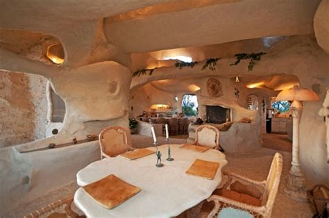dick clark s flintstone house dick clark s flintstones house could be yours pics