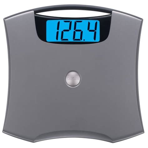 electronic bathroom scale taylor 440 lbs digital bath scale 740541032 the home depot