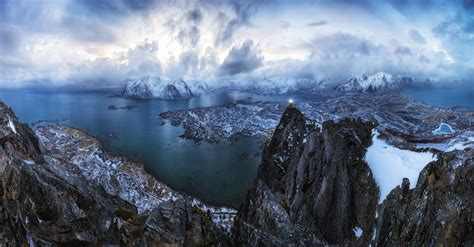 hike themes hd wallpapers winter in lofoten norway full hd wallpaper and