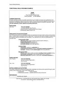 Sle Of Skills And Qualifications For A Resume by 286 Best Images About Resume On Entry Level