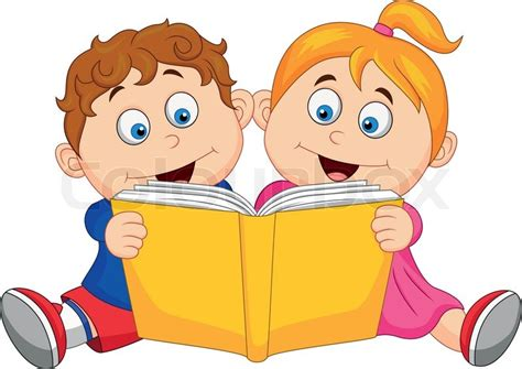 bad news the bad books books vector illustration of children reading a book