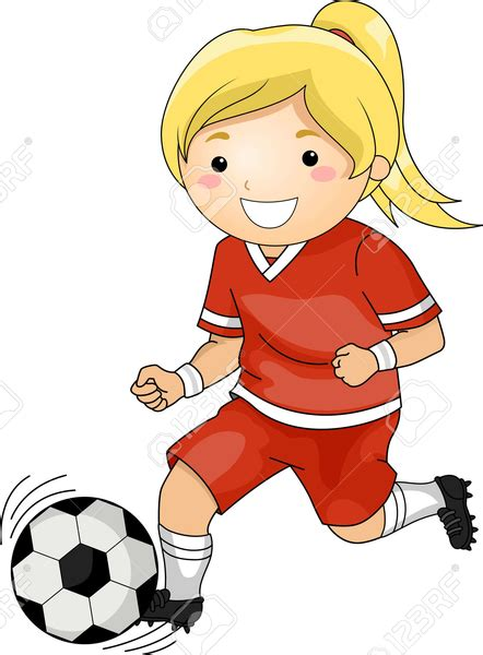 soccer player clipart soccer player clipart free images at clker