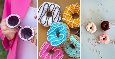 10 DIY Donut Crafts That Are Deliciously Fun to Make