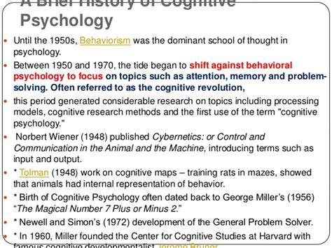 cognitive psychology dr barbara h cognitive psychology introduction