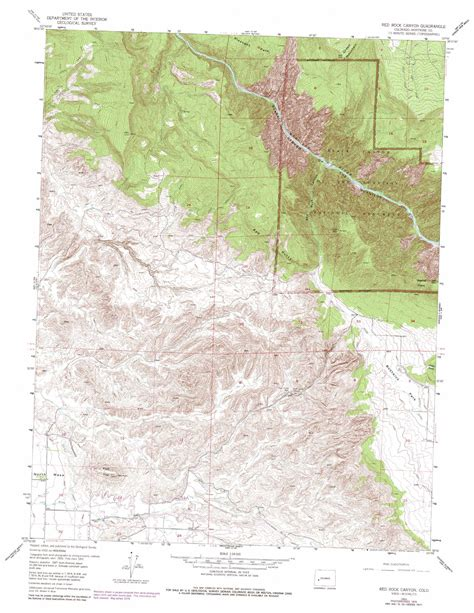 rocks colorado map rock topographic map co usgs topo 38107e7