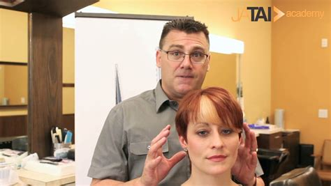 video on how to cutpxie with clippers part 1 women s undercut pixie clipper cutting the