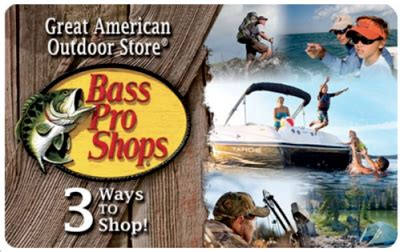 Bass Pro Gift Card Discount - buy bass pro shops 50 gift card get bonus 10 ebay code email delivery