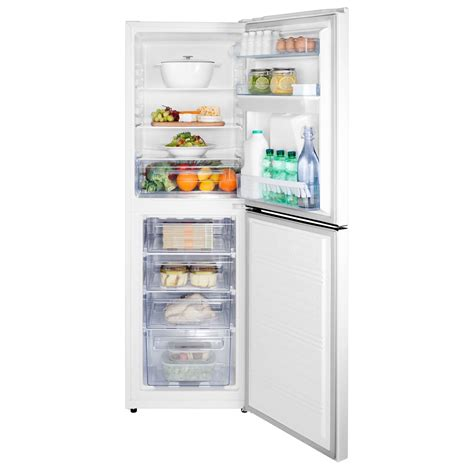 Non Plumbed Fridge by Hisense Rb320d4ww1 55cm White Static Fridge Freezer Non