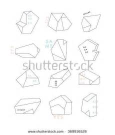 crystallography an outline of the geometrical properties of crystals classic reprint books 3d geometric shapes vector stock vector 249712159