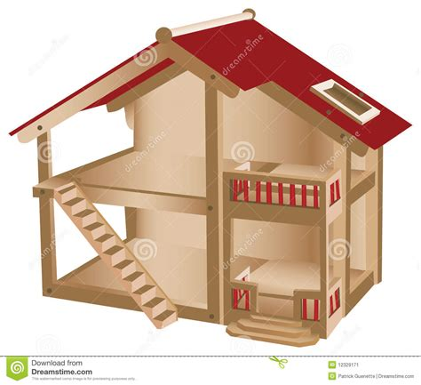 small house for kids small playhouse for kids stock image image 12329171