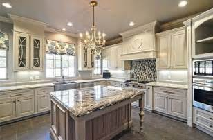 White Antiqued Kitchen Cabinets Small Kitchens Baskets Traditional White Antique Kitchen Small Kitchens Baskets Traditional