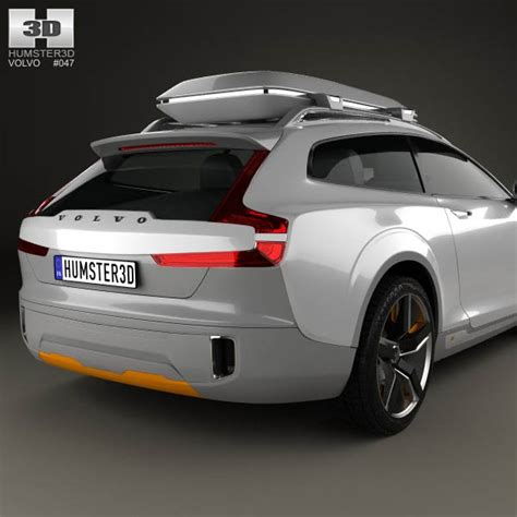 volvo xc coupe 2013 3d model humster3d