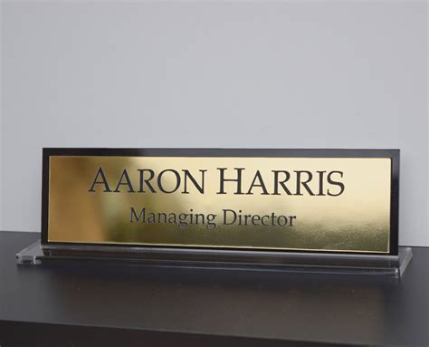 desk name plates custom desk name plates thehletts com