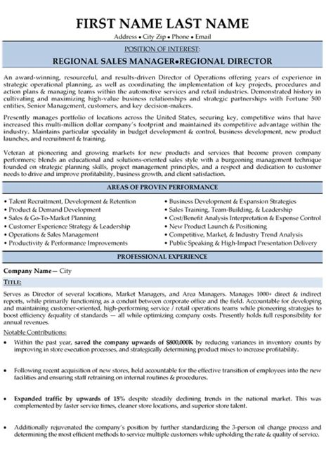 Resume Sles For Sales Director Top Sales Resume Templates Sles