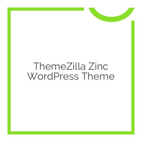 All Themes Plugins From Themezilla themezilla zinc theme 1 0 2 nobuna