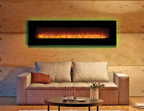 linear fireplace electric the 64ef electric linear fireplace
