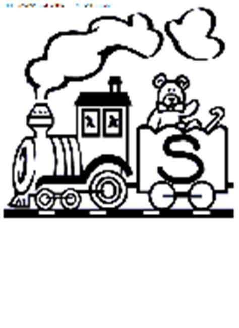 abc train coloring page alphabet train coloring book pages to print free