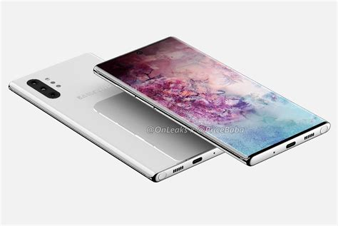 this is what the samsung galaxy note 10 pro will look like