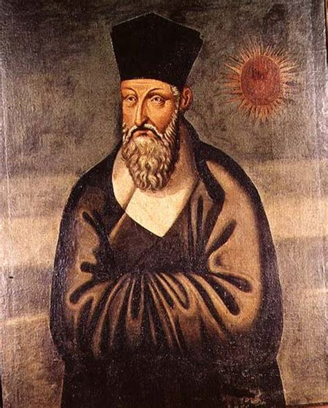 étanchéité à L Italienne 1610 by Portrait Of Matteo Ricci 1552 1610 Ita Italian School