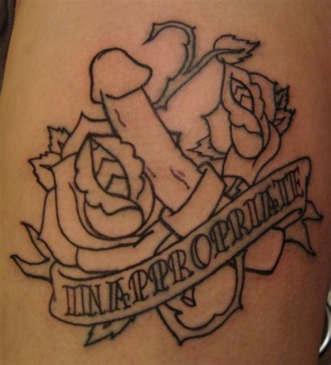inappropriate tattoos gallery by marjorie marchand