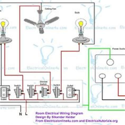 wiring lighting fixtures way switch diagram power into