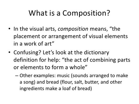What Is Composition by Introduction To Composition