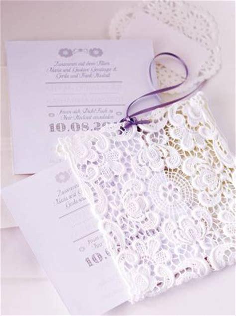 Spitzen Einladungen by Heiraten H 252 Bsche Tischdeko F 252 R Ihre Hochzeit Brigitte De