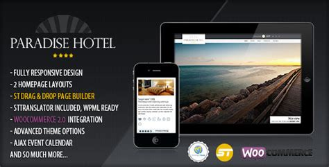 theme hotel for iphone 55 beautiful responsive travel wordpress themes