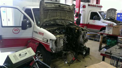 engine removal e 450 6 0l youtube
