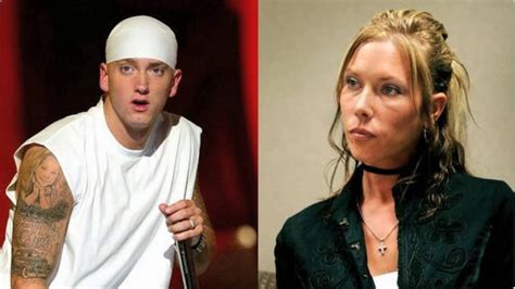 eminem and kim eminem s relationship with ex wife kimberly anne scott