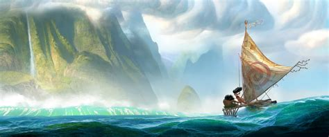film animation moana moana disney unveils first look at south pacific
