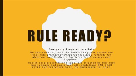 Centers For Medicare Medicaid Services Emergency Preparedness Compliance Rule Training Sessions Cms Emergency Preparedness Communication Plan Template