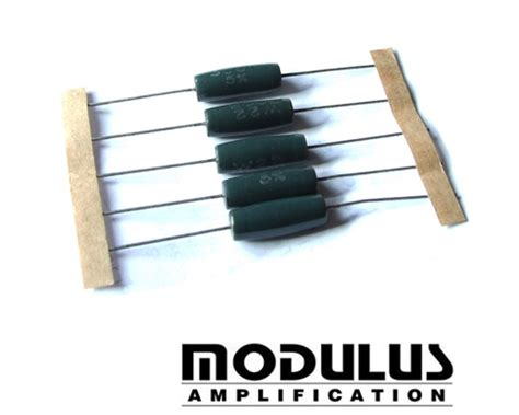 enamelled wire wound resistor welwyn w22 series axial wirewound resistor modulus uk guitar parts and kits