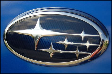 subaru logo constellation subaru six flickr photo