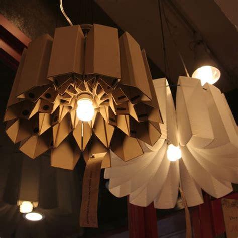 Idea Lamp Lampadari Fai Da Te Realizzati Con Il Cartone 20 Idee
