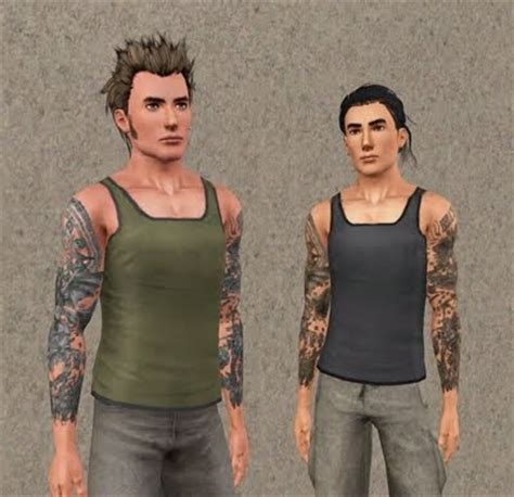 full body tattoo the sims 3 my sims 3 blog tattoo sleeves by newone